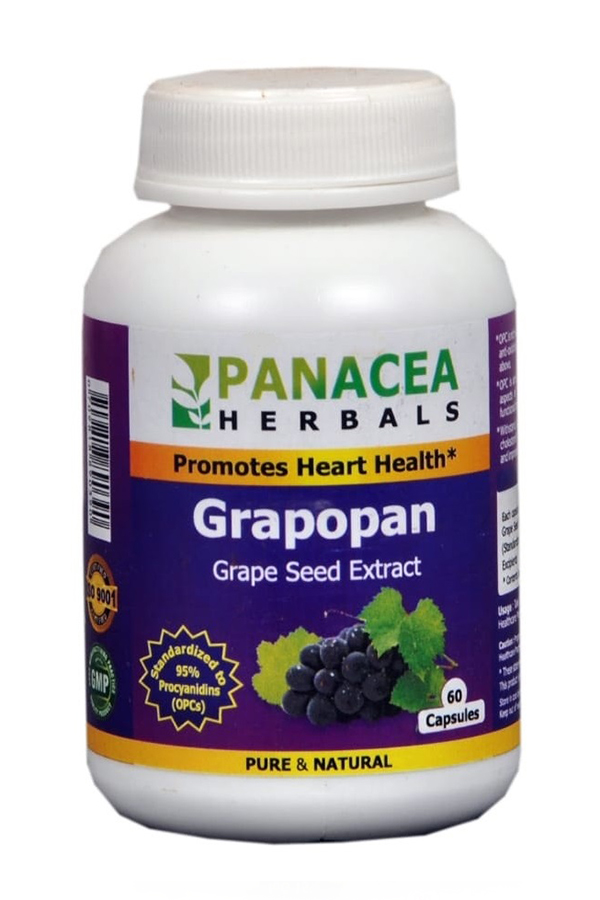 Grape seed extract for skin